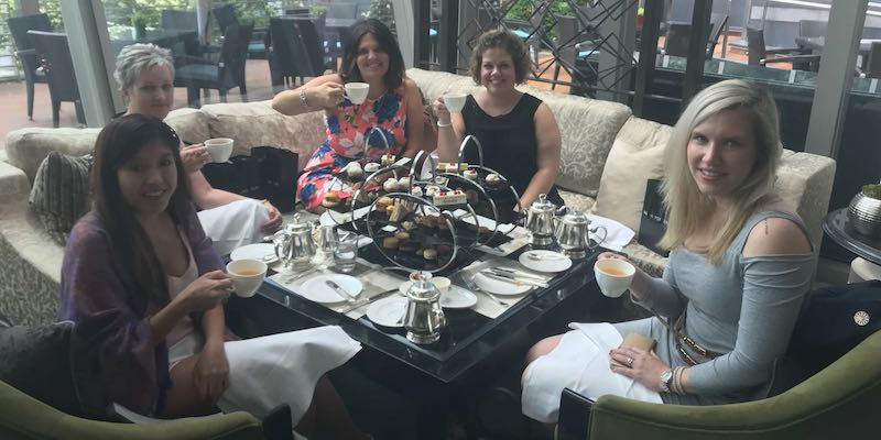 Charter ladies high tea